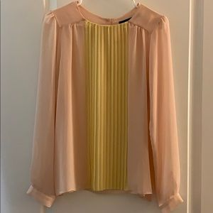 Zara delicate long sleeve top